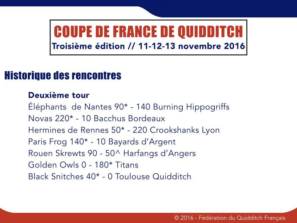 Deuxième tour Coupe de France 2016-1017 - © FQF