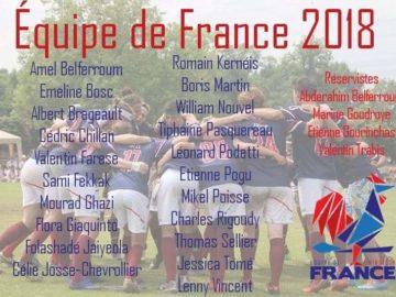 Roster équipe de France 2018